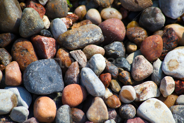 пляж пород полированный аннотация фон Сток-фото © remik44992