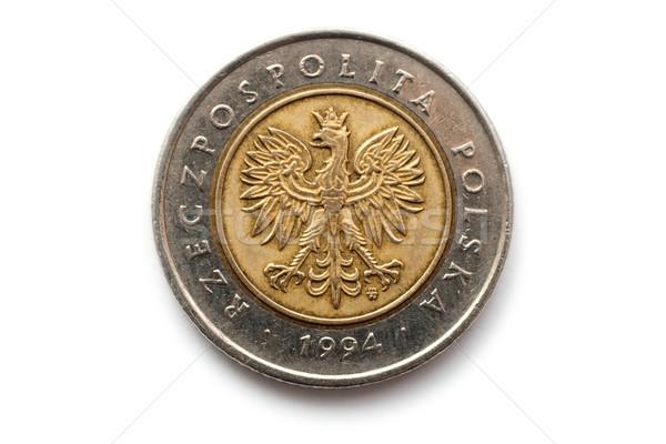 Polish coin Stock photo © remik44992