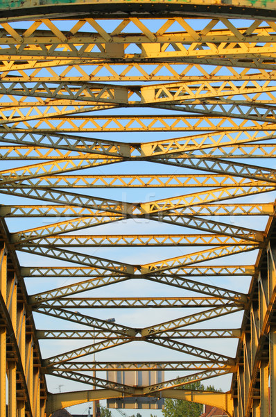 Steel bridge Stock photo © remik44992