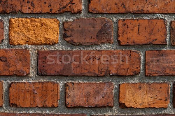 Red brick wall Stock photo © remik44992