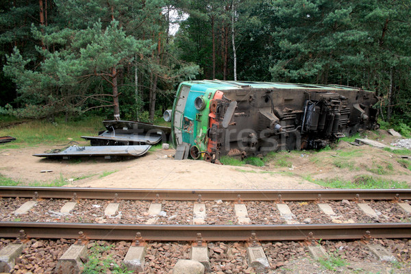 Train crash Stock photo © remik44992