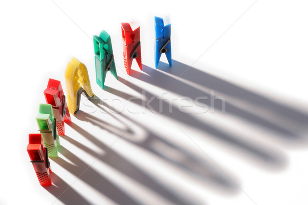Clothes pegs Stock photo © remik44992