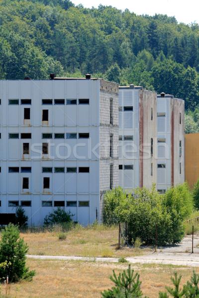 Unfinished power plant Stock photo © remik44992