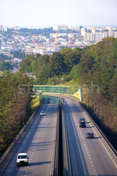 Stock photo: Motorway