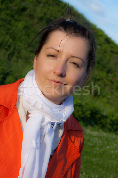 красивой лице портрет Сток-фото © remik44992