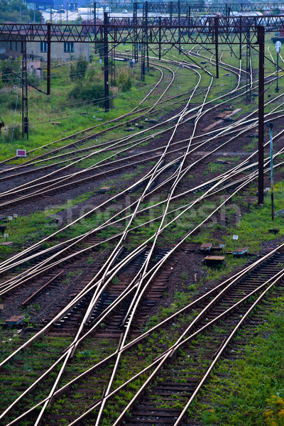 Stock photo: Railway network