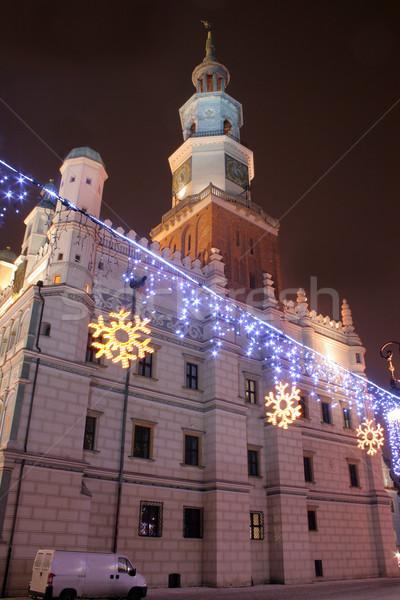 Old town in poznan, poland Stock photo © remik44992