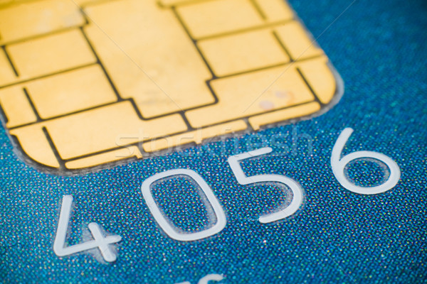 Credit card micro chip Stock photo © remik44992