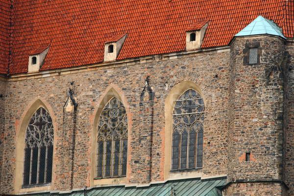 старые базилика вид сбоку древних здании стены Сток-фото © remik44992