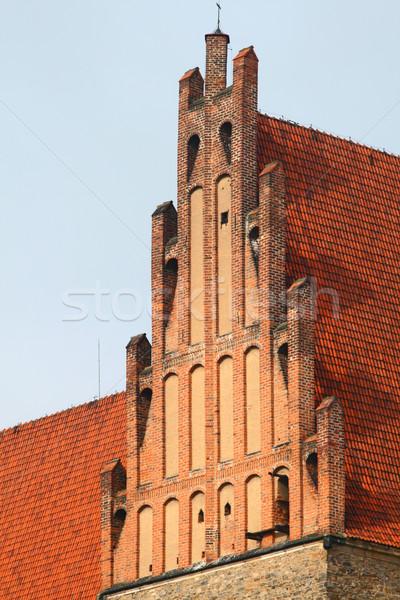 Top старые базилика детали здании стены Сток-фото © remik44992