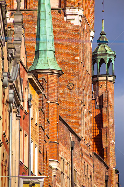 Old town in Gdansk Poland Stock photo © remik44992