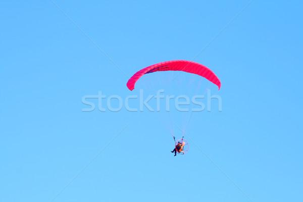 Powered paragliding Stock photo © remik44992