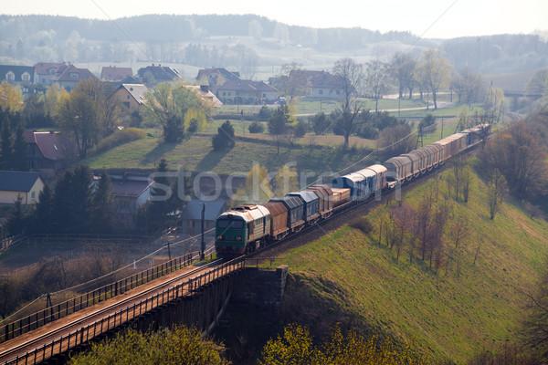 Stock photo: Freight train