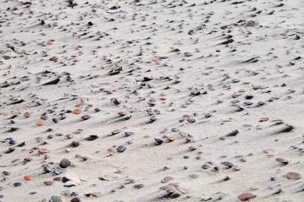 текстуры песок камней пляж природного каменные Сток-фото © remik44992