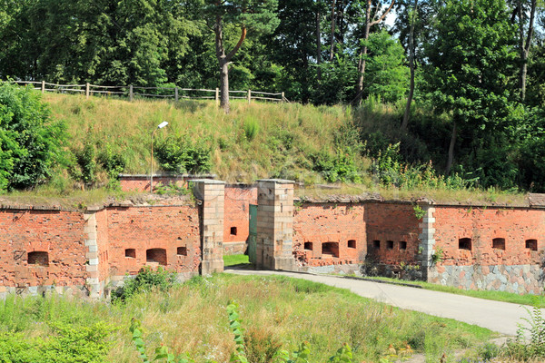 Fortress from the wartime Stock photo © remik44992