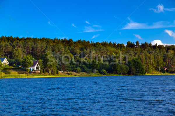 Landscape at the lake Stock photo © remik44992