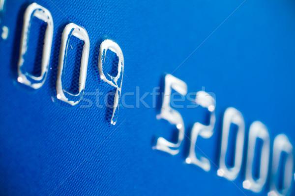 кредитных карт макроса пластиковых бизнеса Финансы Сток-фото © remik44992