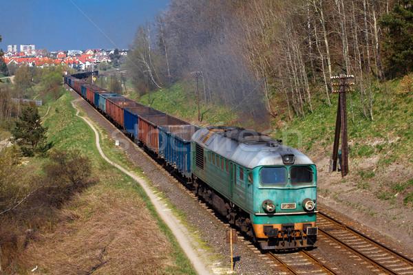 Freight train Stock photo © remik44992