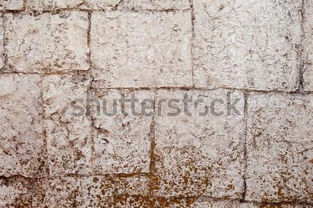 Antigo alvenaria paredes construção fundo Foto stock © restyler