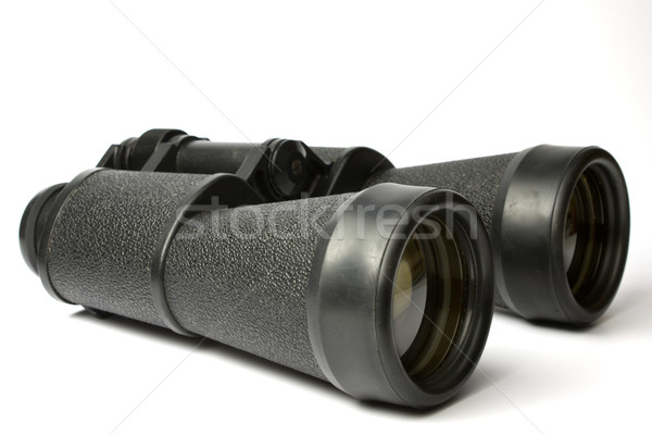 black field-glass Stock photo © restyler