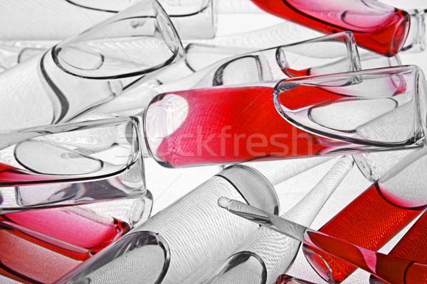 醫生 疫苗 白 健康 科學 瓶 商業照片 © restyler