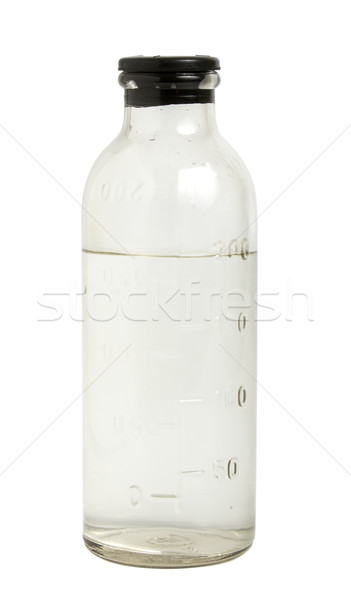 Medical bottle with saline Stock photo © restyler