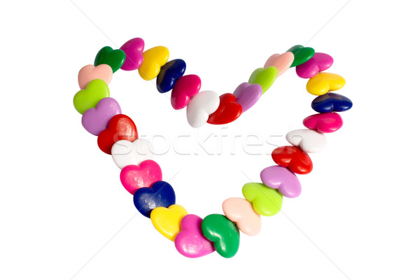 Bracelet from hearts Stock photo © restyler