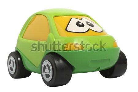Brinquedo carro isolado branco caminhão Foto stock © restyler