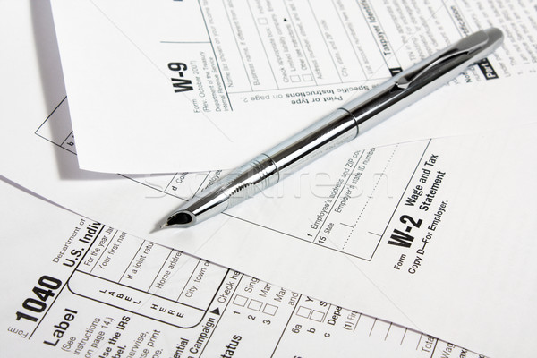 tax forms Stock photo © restyler