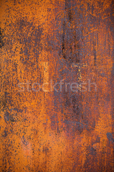 Old rusty metal surface Stock photo © restyler