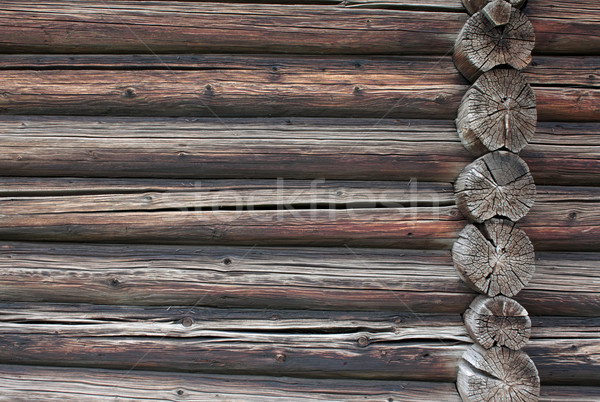 old wooden Log Stock photo © restyler