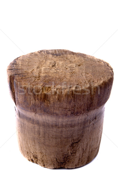Old wooden fuse Stock photo © restyler