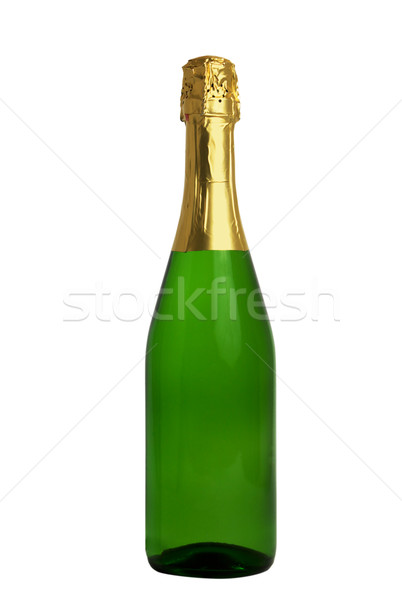 Champagne Bottle (Clipping path) Stock photo © restyler