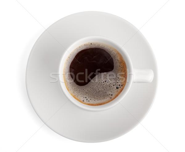 コーヒーカップ カップ 孤立した 白 コーヒー ストックフォト © restyler