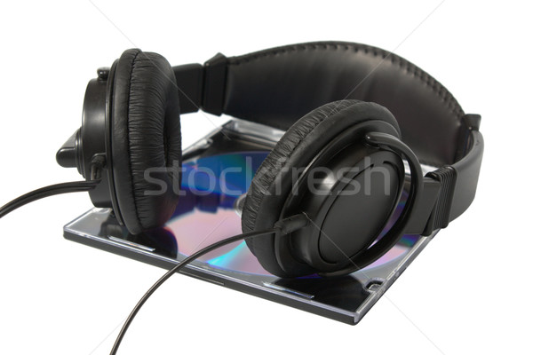 headphone and cd Stock photo © restyler