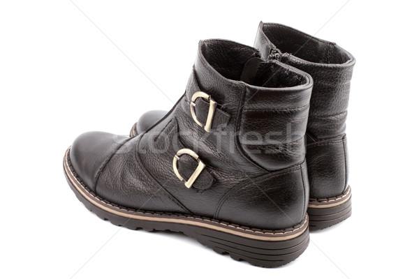 Children's boots Stock photo © restyler
