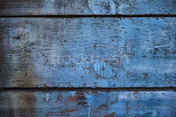 Foto d'archivio: Vecchio · legno · verniciato · superficie · retro · abstract