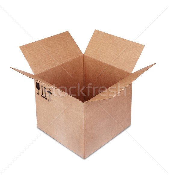 Carboard Box Stock photo © restyler