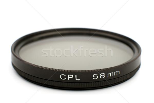 Cir polarizing pro filter Stock photo © restyler