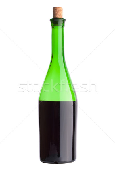 Bottle of red wine Stock photo © restyler