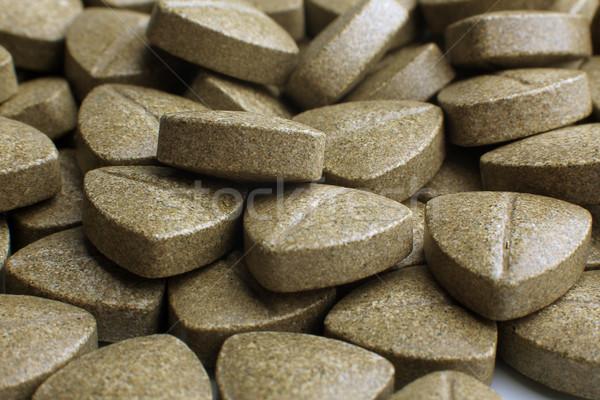 Heap of grassy tablets  Stock photo © restyler
