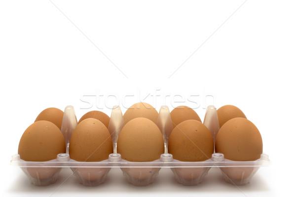 Chicken eggs Stock photo © restyler