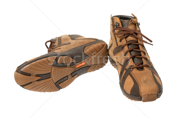 leathers boots Stock photo © restyler