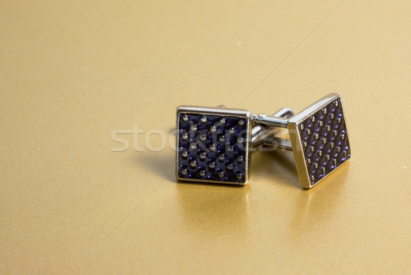 cuff links Stock photo © restyler