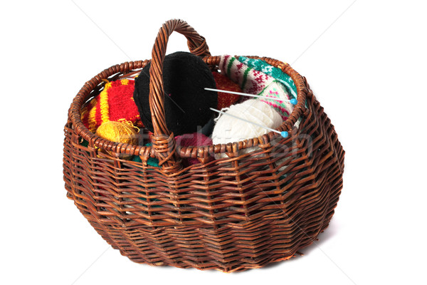 Basket of clews Stock photo © restyler