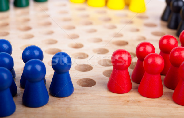 chinese checkers figurine Stock photo © restyler