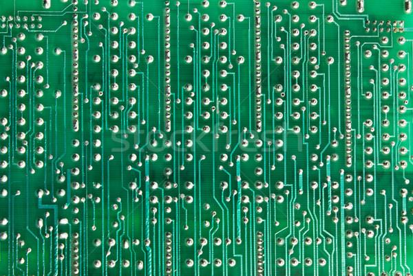 Devre kartı yeşil yüksek teknoloji dijital Stok fotoğraf © restyler