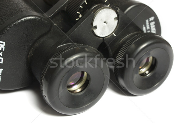 black field-glass Stock photo © restyler