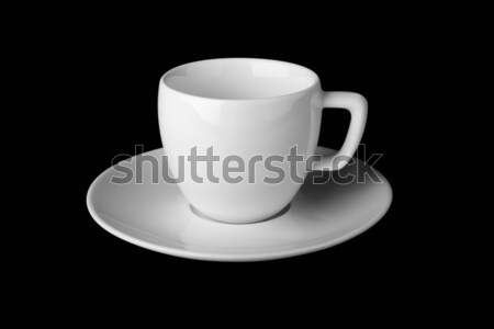 белый кружка изолированный черный бизнеса Сток-фото © restyler