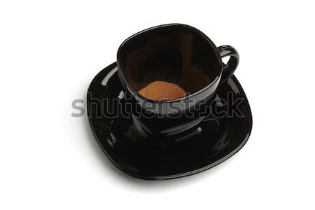 растворимый кофе кружка изолированный белый пить кафе Сток-фото © restyler